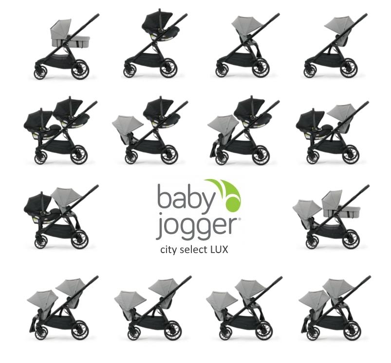Аксессуары для колясок Адаптер Baby Jogger City Select